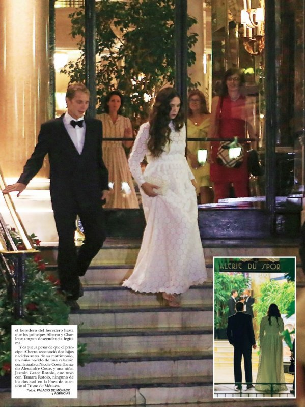 Royal Wedding Dress 2013 - Tatiana Santo Domingo