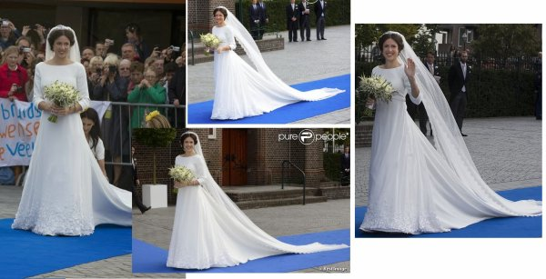 Royal Wedding Dress 2013 - Princess Viktoria de Bourbon Parma Cservenyak