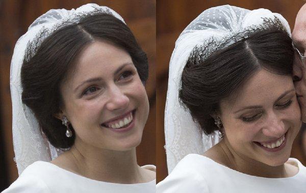Royal Wedding Dress 2013 - Princess Viktoria de Bourbon Parma Cservenyak
