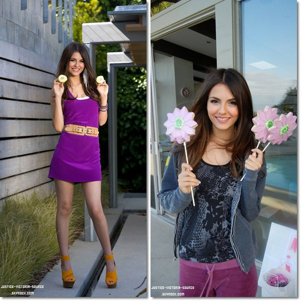 11 / 06 / 2011 - La pochette de la chanson Leave it all to shine qui sera dans iParty with Victorious. Ainsi que des photos provenant du twitter de Victoria, et enfin des photos provenant du photoshoot pour Tiger Beat.