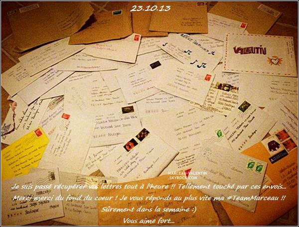 . D�couvrez les photos post�es par Valentin ou d'autres sur les r�seaux sociaux, du 01er au 27 octobre 2013 !  + TOP, BOF, FLOP ?  .