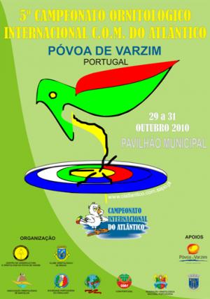 Resultados 5� Campeonato Internacional del Atl�ntico 2010 (Portugal) - R�sultats 5�me Championnat International de l'Atlantique 2010 (Portugal)