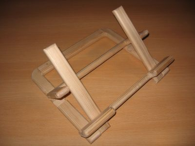 lutrin porte pc portable gag delires en bois. Black Bedroom Furniture Sets. Home Design Ideas