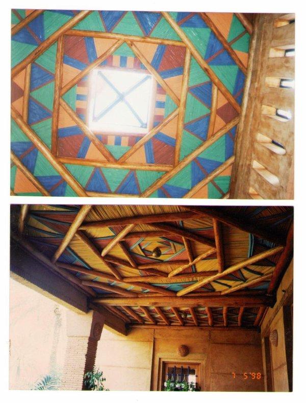 Plafond et Mur tendu - Maroc