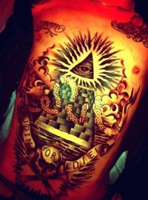 Tattoo illuminati art body 39 for Chiffre 13 illuminati