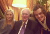 Harry, Gemma & leur grand-p�re