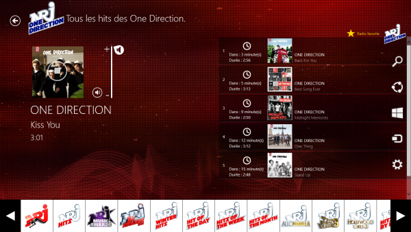 NRJ One Direction. RUN RUN..