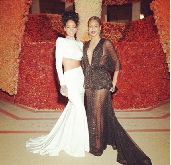 Beyonce et Rihanna posent ensemble