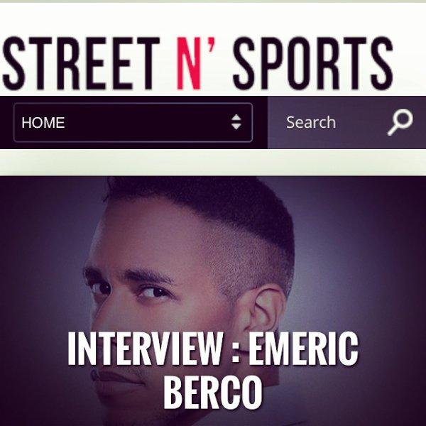 Mon interview pour Street N Sports � lire!