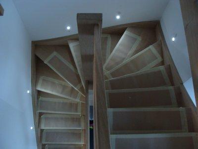 placement de nos leds dans la cage d 39 escalier blog de snook5330. Black Bedroom Furniture Sets. Home Design Ideas