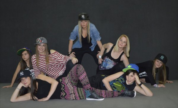 Groupe de Urban Dance : en d�monstration le 26/5 au Bonsel