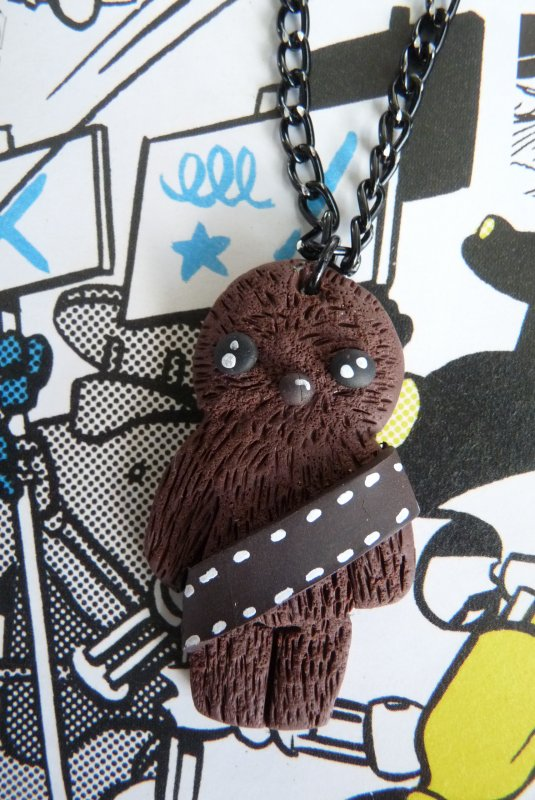 Collier Cute Chewbacca