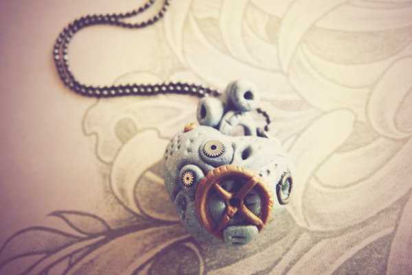 Collier Steampunk