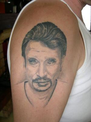 Johnny Hallyday Tatouage