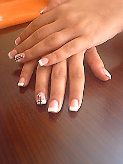 Ongles Decoration Simple : Decoration ongle gel simple
