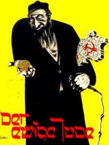 "Sujet n�1 : Affiche antis�mite ""Le juif �ternel "" ; Machine Gun de Jimi Hendrix"