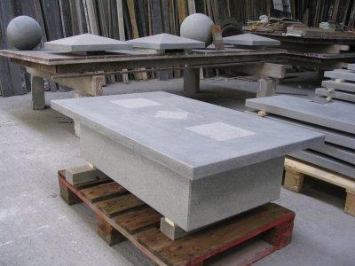 Table basse en pierre bleue reconstitu e blog de - Table en pierre reconstituee ...
