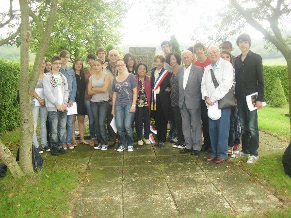 Voyage de mémoire en Allemagne dans le cadre du concours de la résistance et la déportation 2011