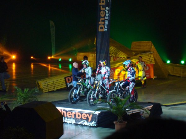 Trial Indoor International au Mill�sium � Epernay