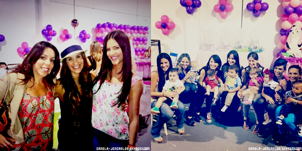 14/07/13 - HAPPY BIRTHDAY ORIANA LANDER(GABY ESPINO'S DAUGHTER).