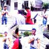 "30/07/11 - Jencarlos Canela au Mexique pour la cha�ne  "" Televisa Prensa ""."