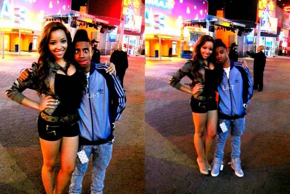 Alexis Jordan with beautiful, Boyfriend Lil Twist