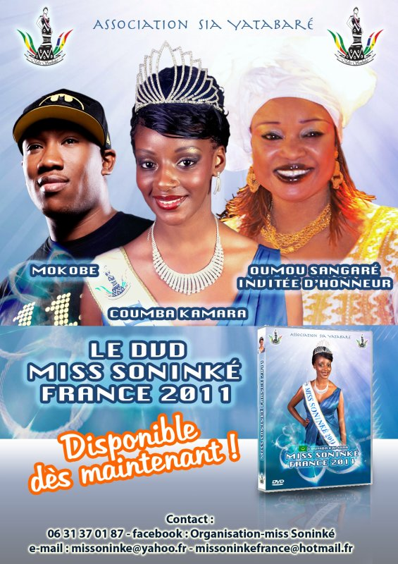 Le DVD de miss sonink� france 2011 vient de sortir