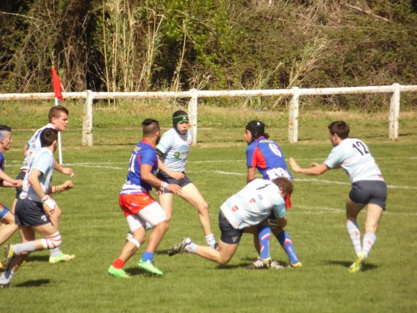 PHOTOS DE LA DEMI-FINALE JUNIORS :  GRUISSAN face au R.E.L.M.