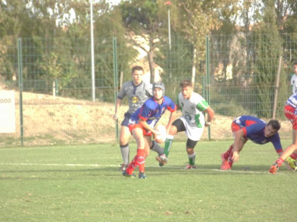 PHOTOS DU MATCH FACE A VENDRES A GRUISSAN