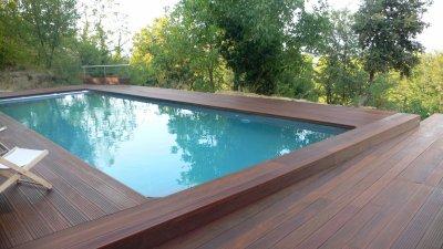Blog de zen bois zen bois concept - Habillage tour de piscine ...