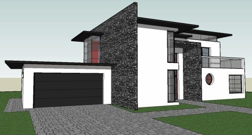 Enchanting Maison Moderne Google Sketchup Photos  Best Image Engine