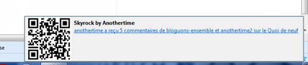 Extension Firefox pour Skyrock