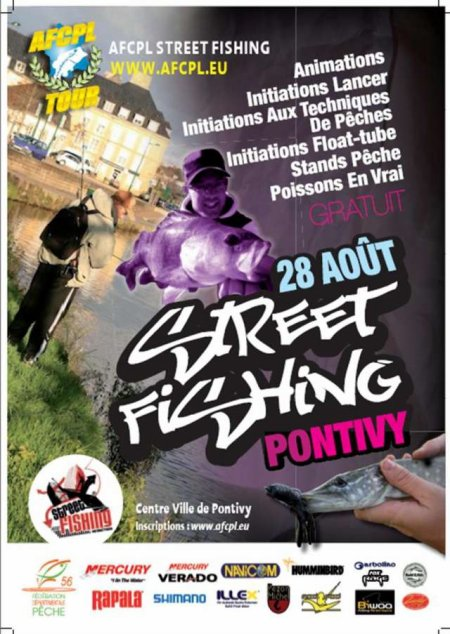 Street fishing de Pontivy le 28/08