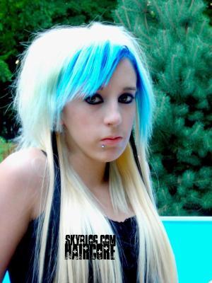 Blog de haircore page 23 b w lcom - Photos meches blondes et noires ...