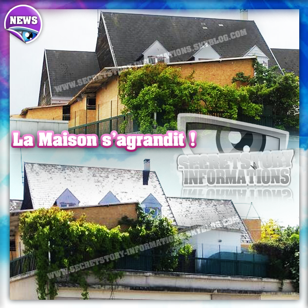 Actualisation 13 02 2014 secret story 8 la maison en for Adresse maison secret story