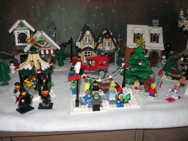village de noel 2012 lego city. Black Bedroom Furniture Sets. Home Design Ideas