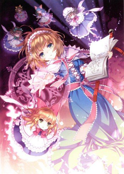 Plutot solitaire , la magicienne des poupées et notre Alice au pays des merveilles : Alice Margatroid !!
