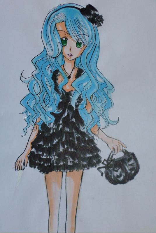 mon dessin pour MoiEtMoiPourTj !!^^