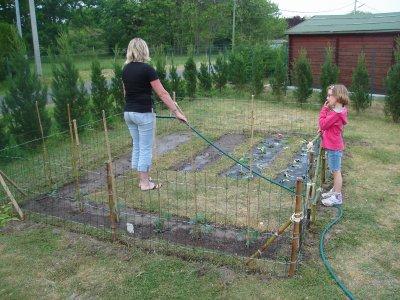 Cr ation jardin potager notre maison nos travaux for Creation jardin potager