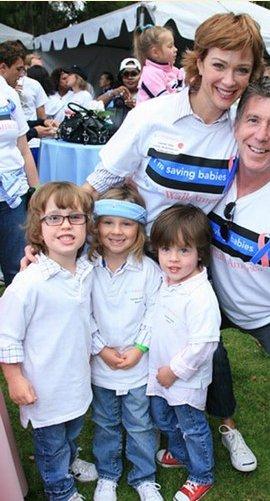 Lauren Holly et les trois fils - Blog de Xx-Star-Baby Lauren Holly George Greco