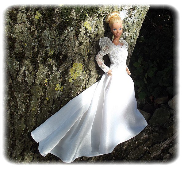 Barbie en robe de mari e blog de parfumdenfance - Barbie mariee ...