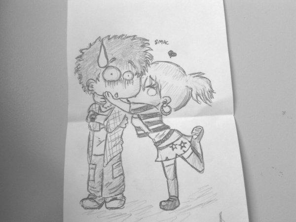 Articles de zalexandra tagg s swag precious 39 blue - Dessin manga amoureux ...