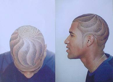 coiffure homme avec motif blog de news cosmetique. Black Bedroom Furniture Sets. Home Design Ideas