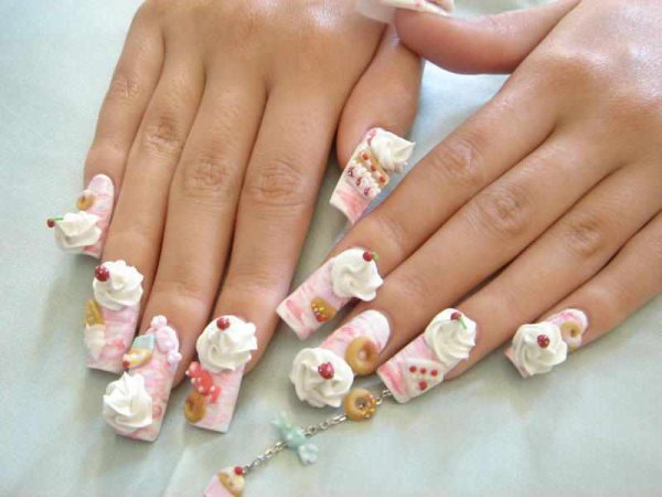 Fairy Tail Nail Designs Fairy Tail Nail Art Sweet And