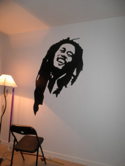 dessin sur le mur d 39 une chambre images. Black Bedroom Furniture Sets. Home Design Ideas