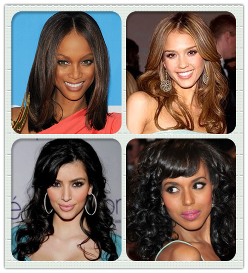 Hairstyles For Broad Shoulders: Different Face Shape Of Black Celebrities With Distinct