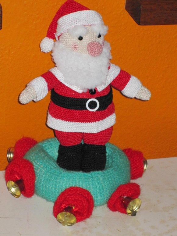Comment Tricoter Un Pere Noel