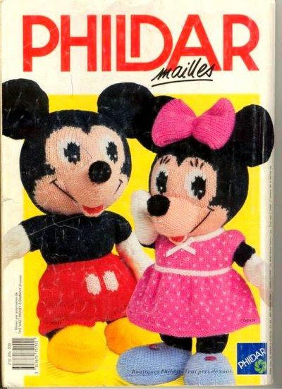 Mickey et minnie au tricot blog de le tricot de marcelle - Le blog de mimi ...