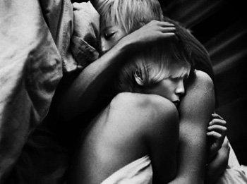Je m'endormis avec toi, pr�s de toi, pour toujours