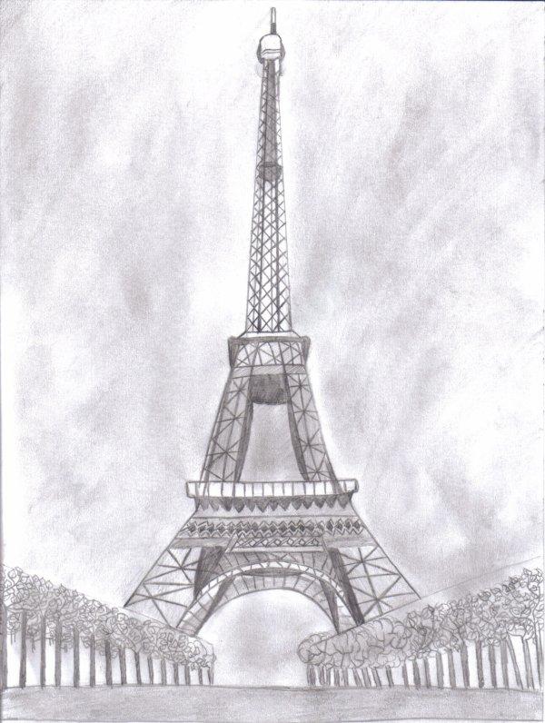 Башня рисунок